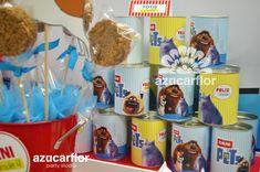 AZUCAR FLOR party studio: LA VIDA SECRETA DE TUS MASCOTAS Secret Life Of Pets, Animal Party, Birthdays, Moana, Valentino, Party Ideas, Blog, Diy Dog, Happy