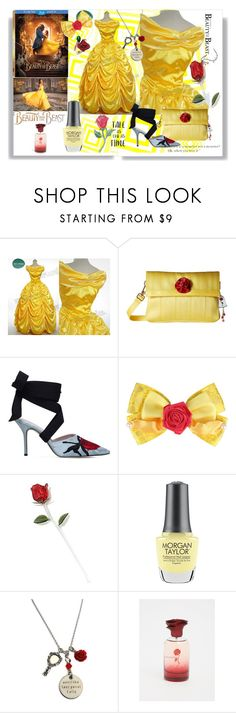 """Tale as old as time"" by kelly-floramoon-legg ❤ liked on Polyvore featuring Disney, Emma Watson, Harveys, Christopher Kane, Morgan Taylor, Torrid, BeautyandtheBeast and contestentry"