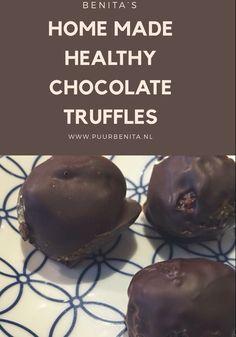Healthy chocolate truffles – Puur Benita