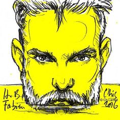 Fabien Alleau Post-it portrait by Christophe LARDOT   Happy Birthday Fabien ;-) @fabienalleau   #manstyle #fashionmodel #fashionillustration #sketch #sketchoftheday #postitart #postitportrait #postitportraitbychistophelardot #portrait #portraiture #beard #bearded #beardgang #beardvillains #gingerbeard #instawoof #instaart #instabeard #yellow #white #whitebeard #drawing #drawingofday #art #arte #fullfrontal #manstyle #manfashion #manface #sexyface #sexymen