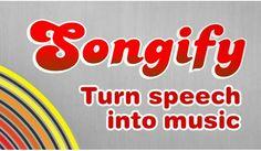 Songify. La app que convierte en canción lo que le digas