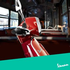 Doesn't matter where you are, you just don't put Vespa in a corner.  #Vespa #VespaLifestyle