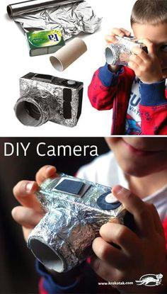 Een zelfgemaakt fototoestel