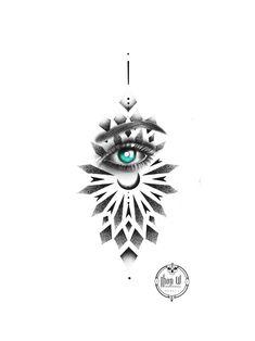 Black Bird Tattoo, Black Tattoos, Body Art Tattoos, Geometric Henna Tattoo, Mandala Tattoo Design, Flower Cover Up Tattoos, Lily Flower Tattoos, Unique Tattoos, Small Tattoos
