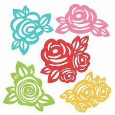 Image result for Free Flower SVG Files for Cricut