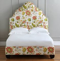 Stout Pattern: Bayrum 4 Spring on bedframe and headboard at EasternAccents.com