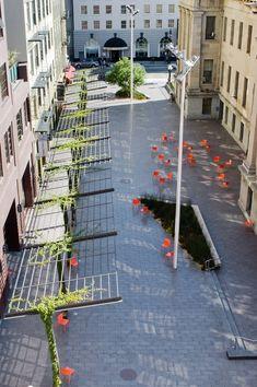 pergola detail/ Mint Plaza in San Franscico//CMG Landscape Architecture Urban Landscape, Landscape Design, Garden Design, Modern Landscaping, Garden Landscaping, Landscape Architecture Jobs, Architecture Career, Architecture Foundation, Architecture Diagrams