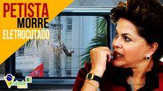 Petista MALUCO morre eletrocutado em comício de DILMA Rousseff