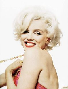 Marilyn Monroe, photographed by Bert Stern