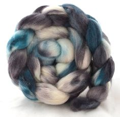 """BFL Blue Face Leicester Top, 4 oz """"Sleepless"""" $13.50"""