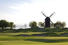 At the golf course in Båstad. © Michael Denker