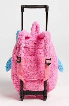Popatu 'Owl' Rolling Backpack   Nordstrom Girls Rolling Backpack, Rolls, Plush, Nordstrom, Backpacks, How To Wear, Bags, Animals, Handbags