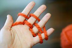 finger kniting
