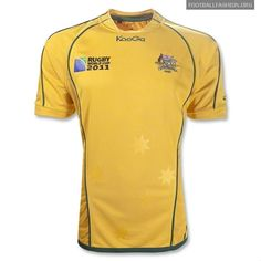 Australia Wallabies KooGa Rugby World Cup 2011 Jerseys
