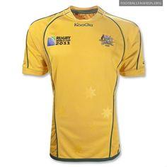 Australia Wallabies KooGa Rugby World Cup 2011 Jerseys