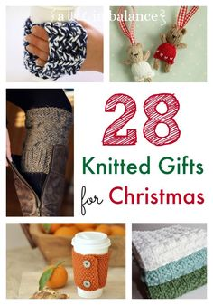 Great gift ideas that are all Knitted Gifts for Christmas