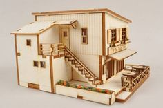 Toy model home kits