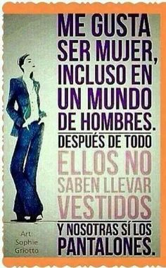 ImageFind images and videos about frases en español, women and dia de la mujer on We Heart It - the app to get lost in what you love. Favorite Quotes, Best Quotes, Love Quotes, Funny Quotes, Inspirational Quotes, Quotes En Espanol, Interesting Quotes, More Than Words, Spanish Quotes