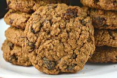 Molasses Oatmeal Chocolate Raisin Cookies