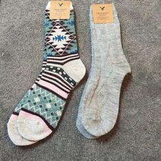 NWT American Eagle Crew Socks American Eagle crew socks American Eagle Outfitters Accessories Hosiery & Socks