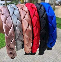 Make Baby Headbands, Thick Headbands, Summer Headbands, Elastic Headbands, Headbands For Women, Wire Headband, Rhinestone Headband, Etsy Embroidery, Knit Headband Pattern