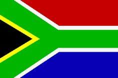 Republic of South Africa - Suid Afrika - National Flag and coat of arms