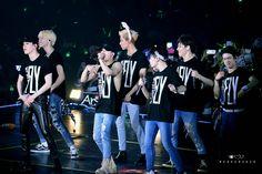 "Got7 ""1th concert fly in bangkok"""