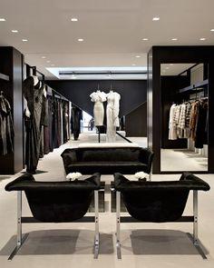 Inside J. Mendel's new Madison Avenue store.