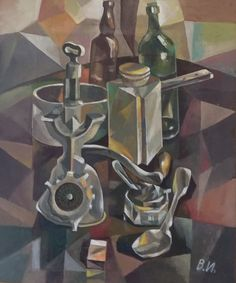 Still life with Metal - Art by Valentine Ioppe