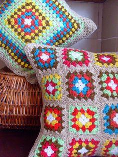 Tus Manos y las Mias: ANTICIPANDO LA NAVIDAD - REGALOS II   crochet cushions gifts for christmas