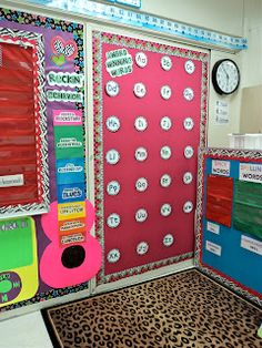 I LOVE the behavior chart that is made like a guitar!  Rockin' Behavior for sure!  How cute!!!  First Grade Fresh: Let's give them something to talk about...