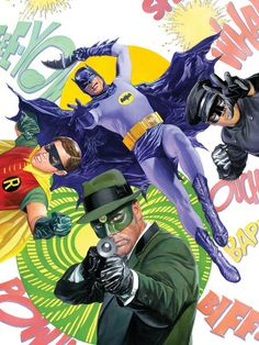 BIFF! KAPOW! @ThatKevinSmith and @Ralph Garman write Batman and Green Hornet in 60s crossover