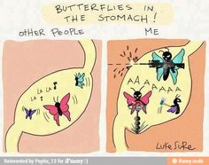 Butterflies in the stomack / iFunny :)