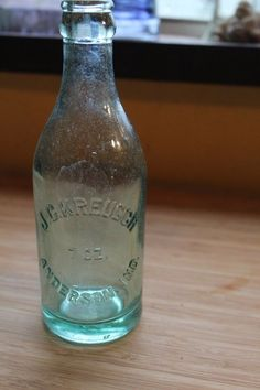 Details About JC Kreusch Soda Bottling Company Anderson Indiana Pop Bottle