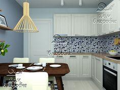 Готовый проект кухни для однокомнатной квартиры. Стоимость всей мебели для кухни 110 000 руб.