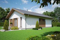 Projekty rodinných domov - projekt domu EKO85