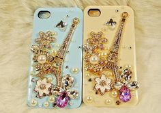 beautiful eiffel tower iphone 4s case, iphone cases iphone cover iphone 4s cover case - flowers iphone 4 case  Only $19.99