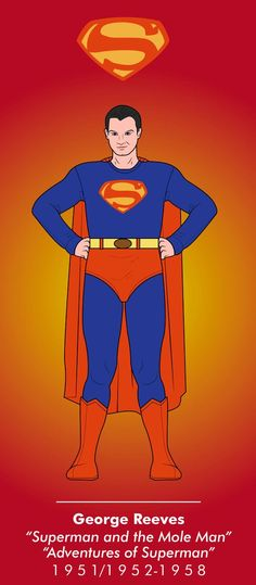 Superman by on DeviantArt Superman Suit, Superman Symbol, Superman Characters, Cartoon Characters, George Reeves, Superman Birthday, Adventures Of Superman, Action Comics 1, Dc Comics Heroes