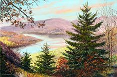 Original Paintings for sale through the online store of North Carolina based William Mangum Fine Artist John Crane, Original Paintings For Sale, Summer Painting, Autumn Scenery, Mountain Art, Artist Painting, American Artists, Love Art, Art Lessons