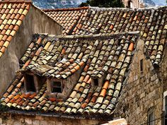 An Old Roof In Dubrovnik (c) Ken Hircock