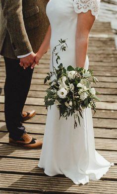 Aideen, from Ennis in Co. Clare, and Jonny, from Huddersfield in Yorkshire, met at a mutual friend's birthday weekend in North Wales in Birthday Weekend, North Wales, Fun Games, Yorkshire, Big Day, Wedding Bouquets, Real Weddings, Table Decorations, Birthday Week