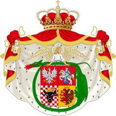 Coat of Arms of Vladislav Jagaila as king of Poland.