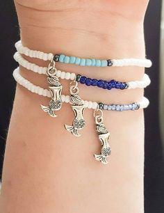 Check out this item in my Etsy shop https://www.etsy.com/uk/listing/522056499/mermaid-bracelets-bff-bracelet