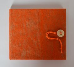 Personalised CD DVD Case  Orange by HandmadeCDcase on Etsy, $18.99