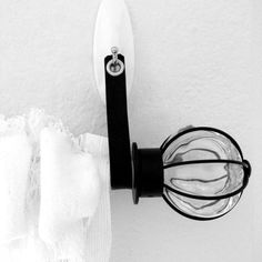 Leather Curtain Rod Holder Strap for Renters - No Holes in Your Wall - Strap - Bracket - Condo - Apartment Dwellers
