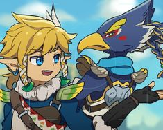 Link and Revali
