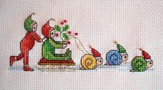 from the World of Cross Stitch 169, Fairy Festivities by Joan Elliott