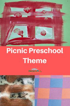 A Picnic Theme for preschoolers can be so much fun!  And not just in the summer!  How about having a picnic when the bad weather keeps you indoors?