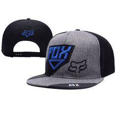 3abbacc2eb9687 FOX MX Snapback Adjustable Baseball Cap / Trucker Hat: One Size Fits Most