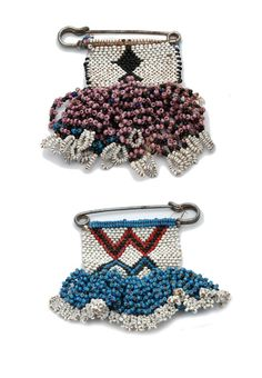 "Africa | 2 x Brooch or fibule ~ ""Tembu"" ~ from the Masitise region of Lesotho…"